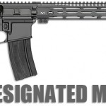 MI 20 Squad Designated Marksman Rifle - Black