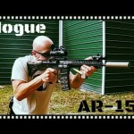 Hogue OverMolded Collapsible Buttstock - AR15 Vault