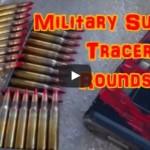 Tracer Rounds Fired Through AR-15 Pistol