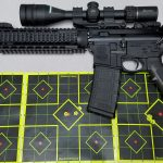 Smith and Wesson MP15T with HPR 223 Rem 55gr V-MAX at 100 yds
