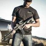 UFC Fighter Jon Jones with Stag Arms Rifle
