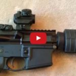Palmetto State Armory AR-15 Pistol with Shockwave Blade Pistol Stabilizer