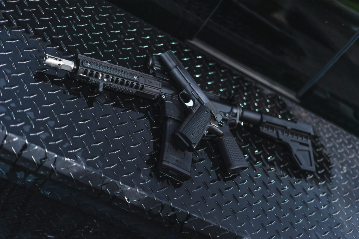VZ AR Grip on AR-15