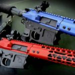 Tactical Transition Air Lite AR-15 Upper Sets in Red and Blue