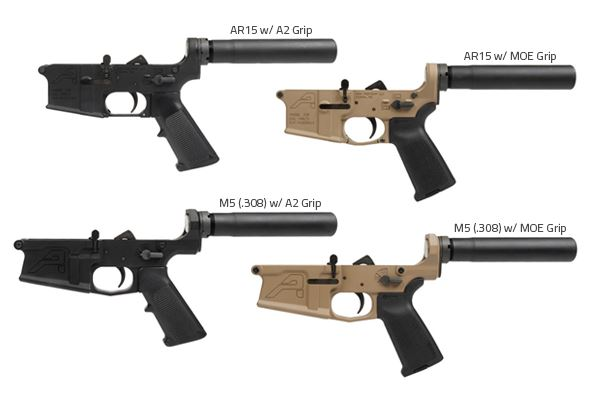 Aero Precision AR-15 Complete Lower Receivers
