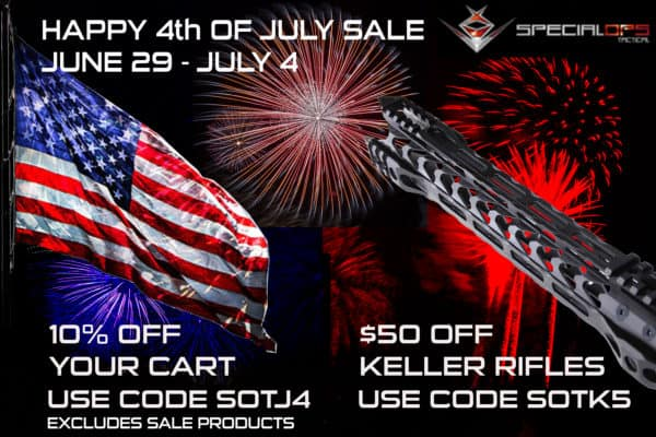 Special Ops Tactical 4th of July Sale