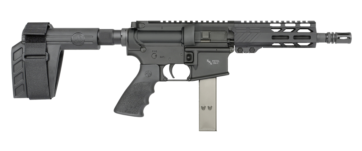 Rock River Arms LAR-9 Pistol with SB Tactical Pistol Stabilizing Brace